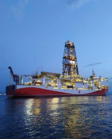 Türkiye Petrolleri Fatih ve Yavuz Sondaj Gemisi